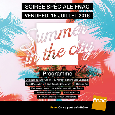 Summer in the City by FNAC
