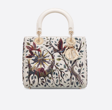 Le SAC LADY DIOR NATURE BALLET