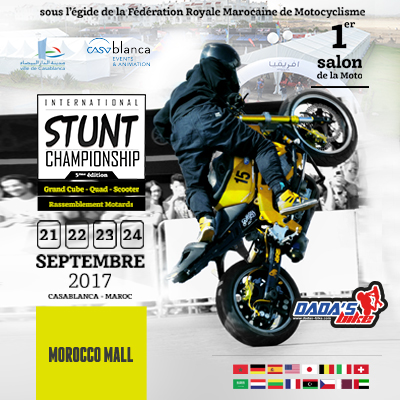 5éme édition du championnat international du Stunt